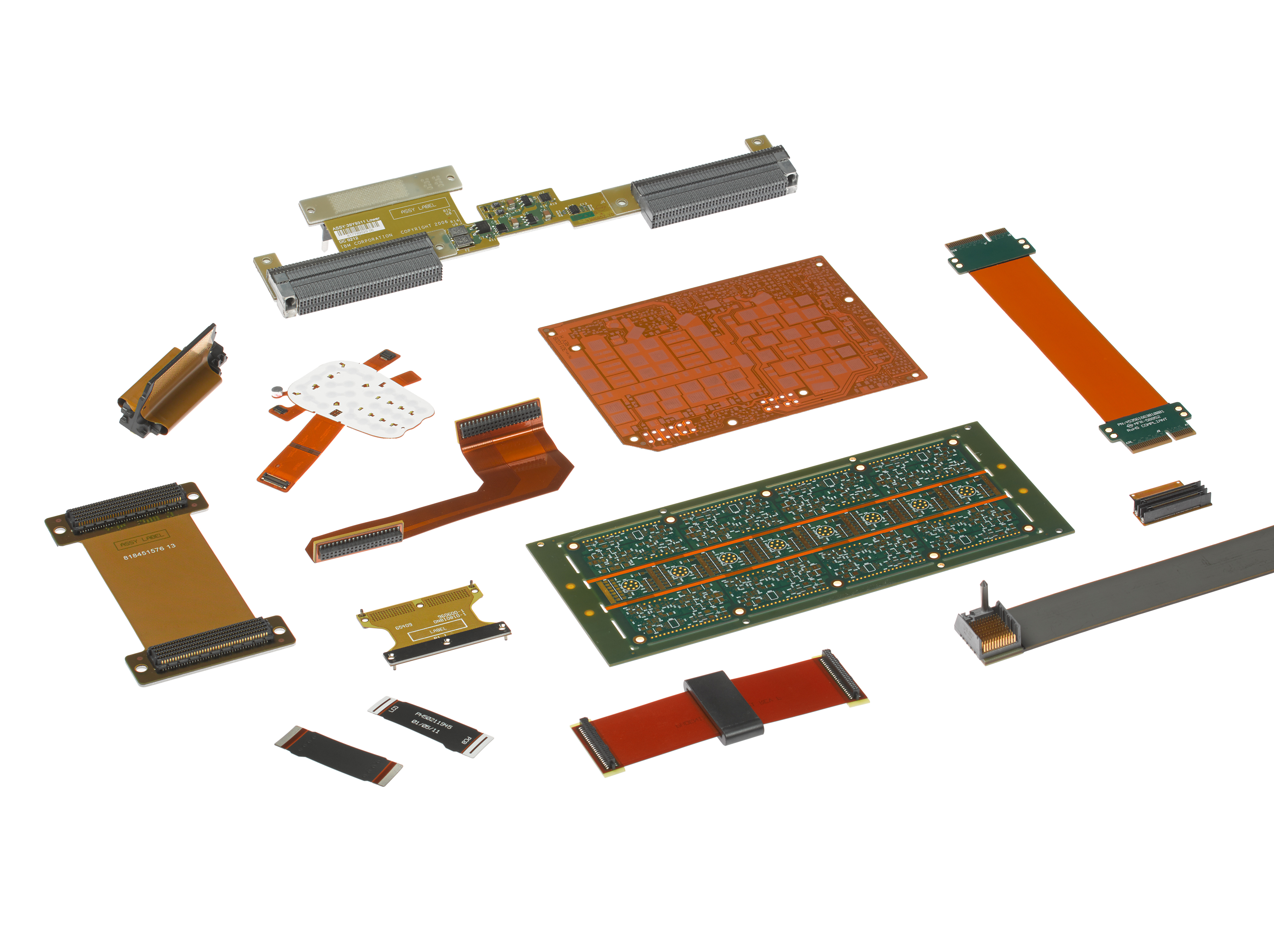 Flexible 3d Circuits Power Medical Devices The Connector By Molex Atx Supply Schematic Diagram Additionally Polyimide Material Used In Their Fabrication Dissipates Heat Better Than Standard Pcb Materials As A Result Flex Circuit Requires Less Cooling